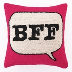 On Sale BFF Hook Pillow