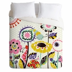 On Sale Caterpillar Luxe Duvet Cover - Queen