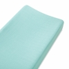 Changing Pad Cover in Azure Solid Aqua