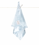 On Sale Chenille Satin Security Blanky - Blue