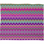 On Sale Chevron 2 Fleece Small Throw Blanket