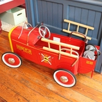On Sale Classic Pedal Fire Truck