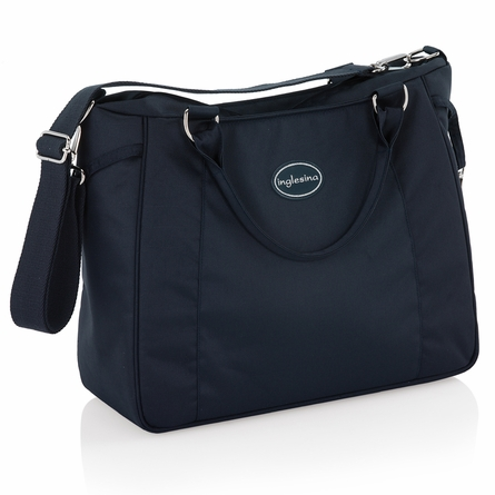 On Sale Classica Pram with Diaper Bag in Navy & White
