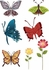 On Sale Color Butterflies Wall Decals