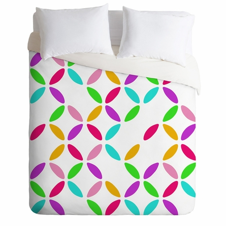 On Sale Colour Block Duvet Cover - Twin