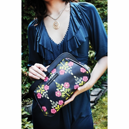 On Sale Cross Town Clutch Diaper Bag - Springtime in Surrey