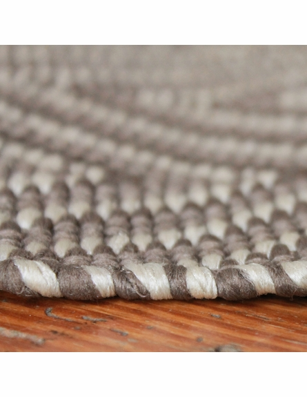 On Sale Dash & Albert Diamond Indoor/Outdoor Rug in Charcoal and Taupe - 2 x 3 Feet