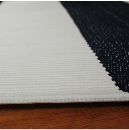On Sale Dash & Albert Lakehouse Indoor/Outdoor Rug in Navy and White - 6 x 9 Feet
