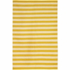 On Sale Draper Stripe Rug in Citrine - 5 x 8 Feet