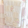 On Sale Gwen Patchwork Baby Blanket - Rose Quartz Pink