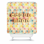 On Sale Happy Days Shower Curtain