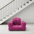 On Sale Hippo Small Futon in Pink
