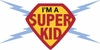 I'm a Super Kid Paint by Number Wall Mural