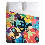 On Sale Invasion Fleet Duvet Cover - Queen