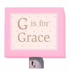On Sale J is for Jillian Classic Girl Night Light
