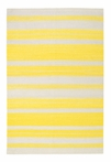 On Sale Jagges Stripe Rug in Yellow - 3 x 5 Feet