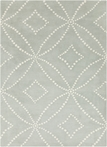 On Sale Kaleidoscope Harlequin Rug in Gray - 5 x 8 Feet