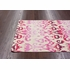 On Sale Lanterns Ikat Rug in Dragon Fruit - 7.5 x 9.5 Feet