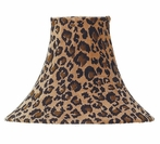 On Sale Leopard Medium Lamp Shade with Pink Bow