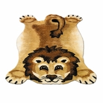 On Sale Lion Playmat Rug - 39 x 55 Inches