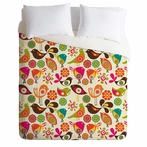 On Sale Little Birds Duvet Cover - Twin