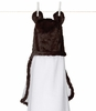 On Sale Luxe Giraffe Hooded Towel - Chocolate