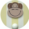 Monkey Wall Peg - Set of Two