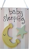 On Sale Moon and Star Girl Doorhanger
