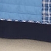 On Sale Navy Blue Cotton Bed skirt - Twin