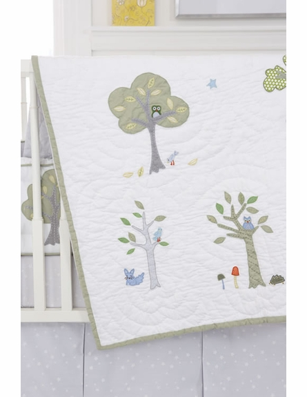 Nightowl Crib Bedding Set