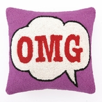 On Sale OMG Hook Pillow