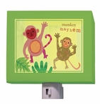 On Sale Oopsy Daisy Monkey Mayhem Nightlight
