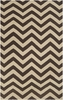 On Sale Parchment and Umber Chevron Frontier Rug - 8 x 11 Feet