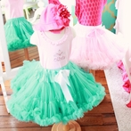 On Sale Pettiskirt In Turquoise - Small