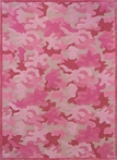 On Sale Pink Camo Rug - 43 x 55 Inches