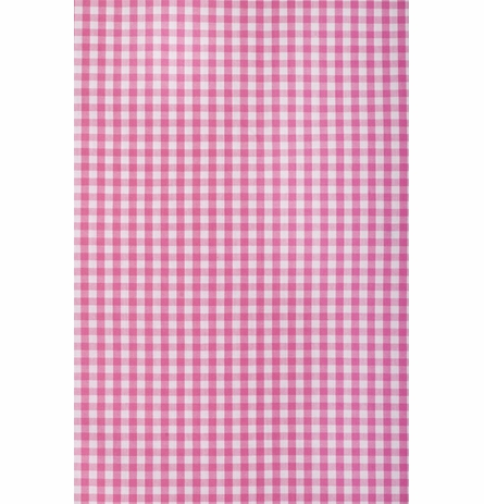 On Sale Pink Gingham Check Twin Duvet Cover