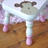 On Sale Pink Monkey Step Stool - Personalized for Cosette