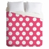 On Sale Pinkest Pink Duvet Cover - Queen