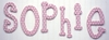 On Sale Polka Dot Letters in Pink - Letter C