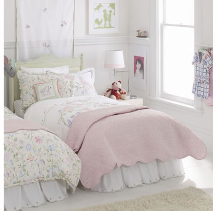 Princess Pink Twin Coverlet