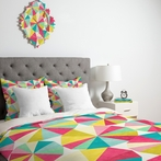 On Sale Raincatchers Duvet Cover - Queen