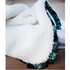 On Sale Receiving Blanket - Moroccan Mint Chenille