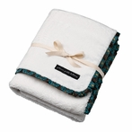 On Sale Receiving Blanket - Night Blooming Roll Brocade
