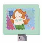 On Sale Red Headed Mermaid Nightlight