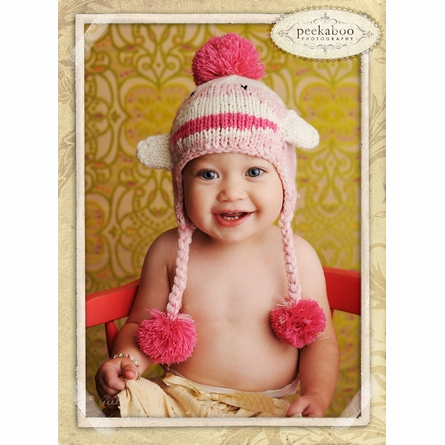 On Sale Riley Pink Monkey Hat