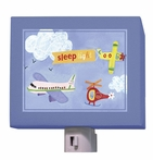 On Sale Sleep Tight Airplanes Nightlight