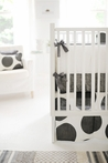 On Sale Spot On Charcoal Crib Bumper