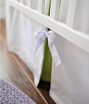 On Sale Sweet Violet Crib Skirt