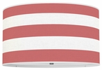 On Sale Thao Cabana Stripes Pendant 16inch Red