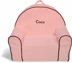 On Sale Toddler Chair in Pink Microsuede - Personalized for Coco
